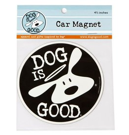 Dog Is Good Magnet Bolo Round 4.5""