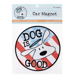 Dog Is Good Magnet Patriot Bolo