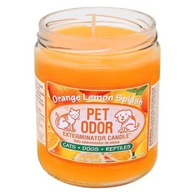 Specialty Pet Products Odor Exterminator Candle Orange Lemon Splash