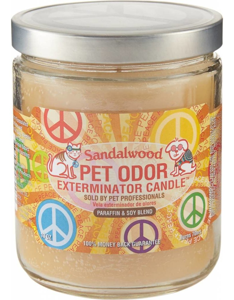 Specialty Pet Products Odor Exterminator Candle Sandalwood
