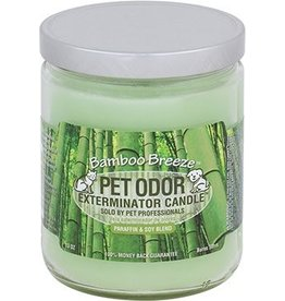 Specialty Pet Products Odor Exterminator Candle Bamboo Breeze