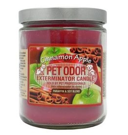 Specialty Pet Products Odor Exterminator Candle Cinammon Apple