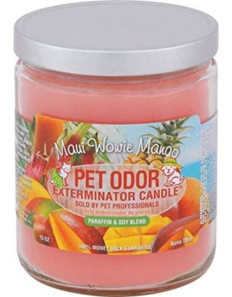 Specialty Pet Products Odor Exterminator Candle Maui Wowie Mango
