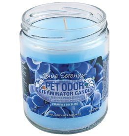 Specialty Pet Products Odor Exterminator Candle Blue Serenity