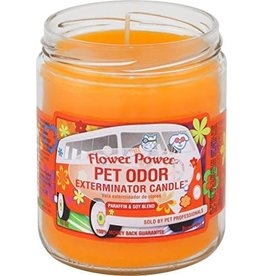 Specialty Pet Products Odor Exterminator Candle Flower Power