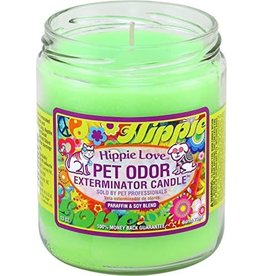 Specialty Pet Products Odor Exterminator Candle Hippie Love
