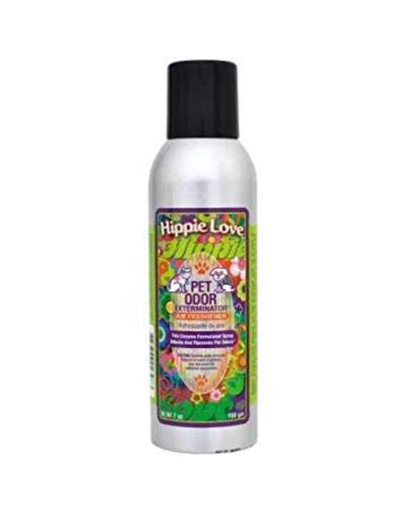 Specialty Pet Products Odor Eliminating Spray Hippie Love