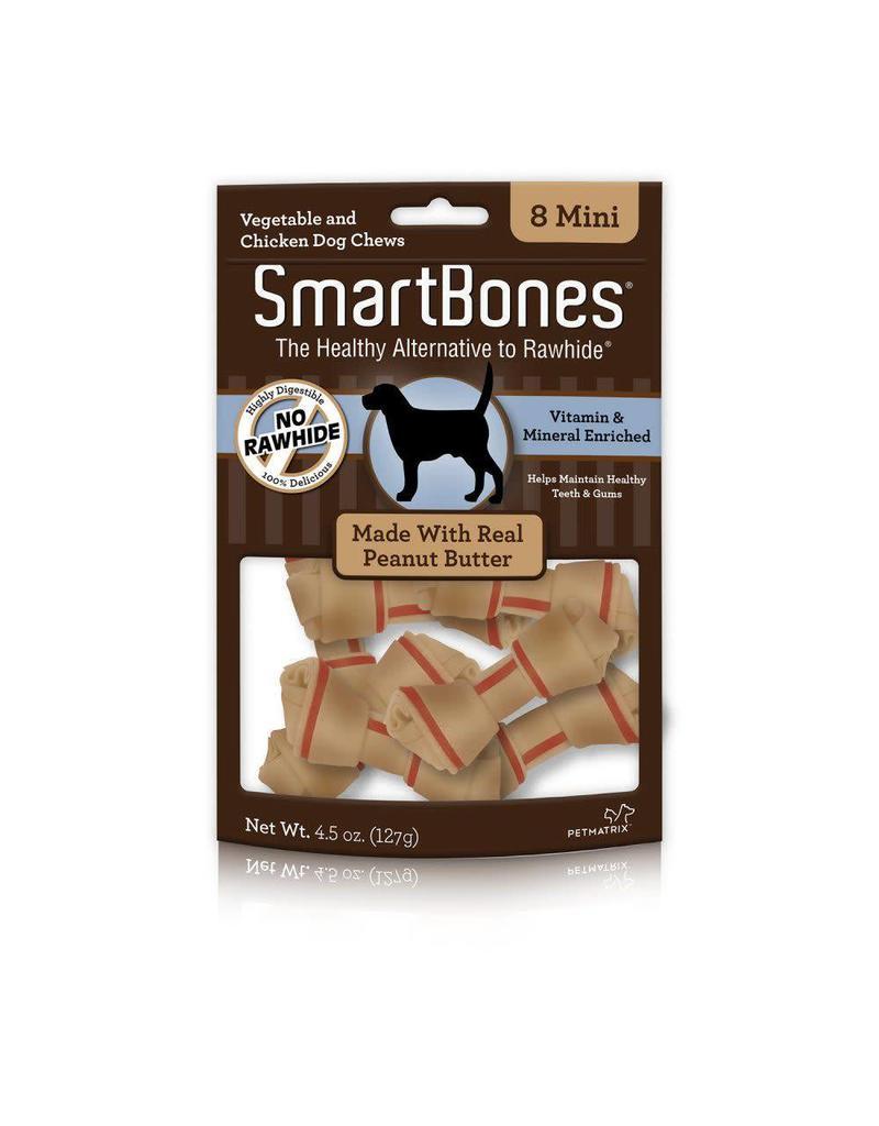 SmartBone Peanut Butter Mini 8pk