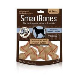 SmartBone Peanut Butter Sm 6pk