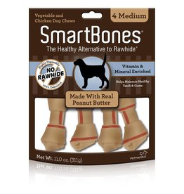 SmartBone Peanut Butter Medium 4pk