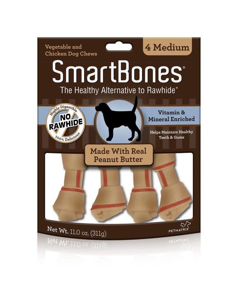 SmartBone Peanut Butter Medium 4pk