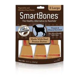 SmartBone Peanut Butter Lrg 3pk