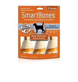 SmartBone Sweet Potato Large 3pk