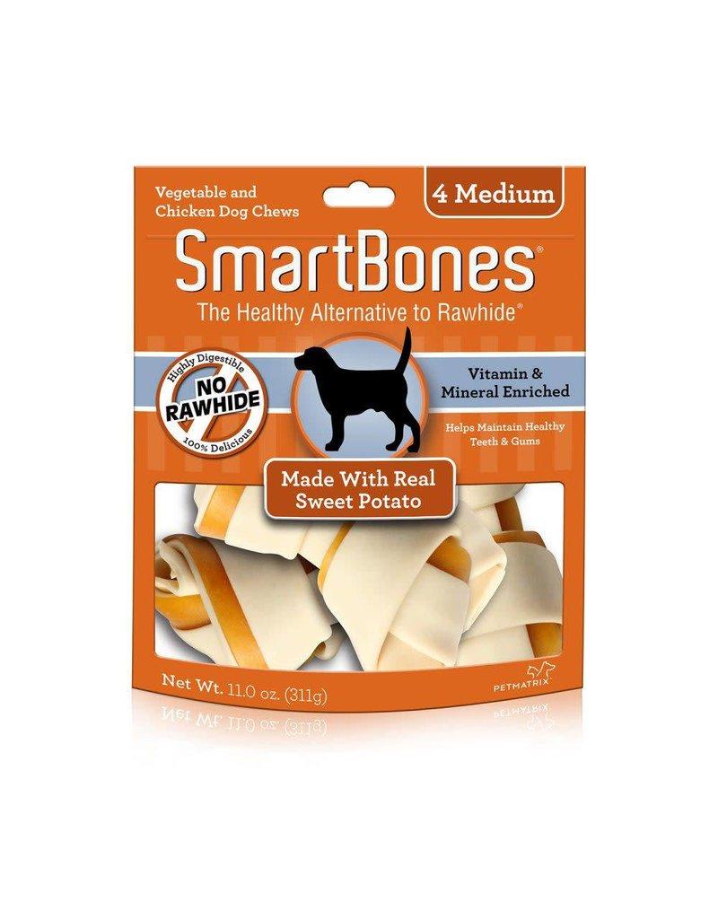 SmartBone Sweet Potato Medium 4pk