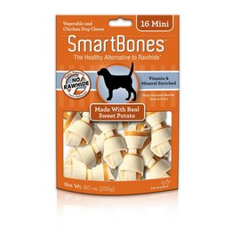 SmartBone Sweet Potato Mini 16pk