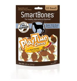 SmartBone PlayTime Chews Peanut Butter Small 10pk