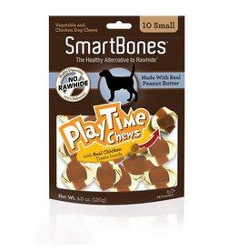 SmartBone PlayTime Peanut Butter Small 10pk