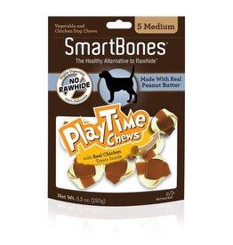 SmartBone PlayTime Peanut Butter Med 5pk