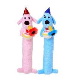 Multipet Birthday Loofa Dog 12in