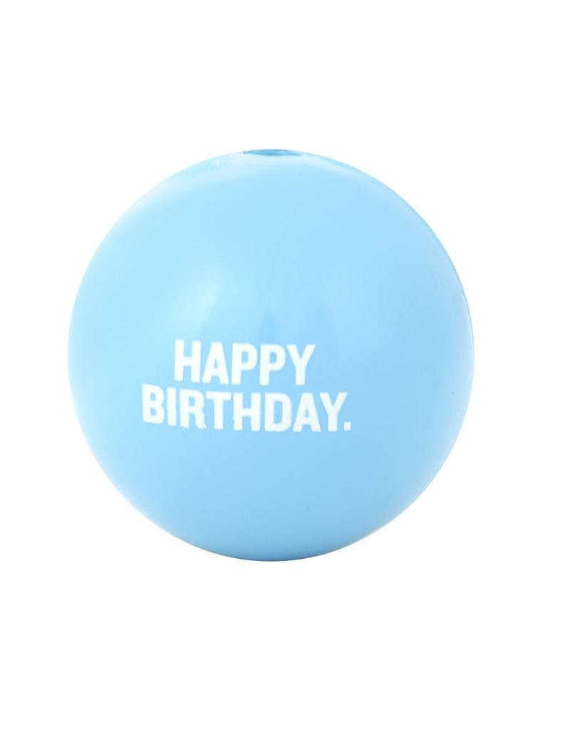 Planet Dog Orbee-Tuff Happy Birthday Blue