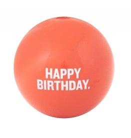 Planet Dog Orbee-Tuff Happy Birthday Pink