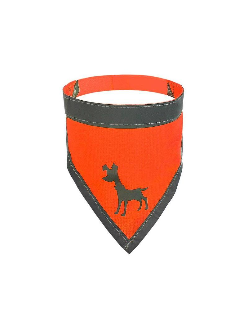 Alcott Bandana Small Neon Orange