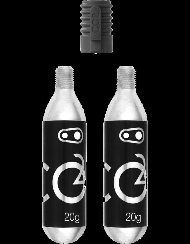 Crankbrothers CO2 16G Cartridge (2 Units) W/ Inflator