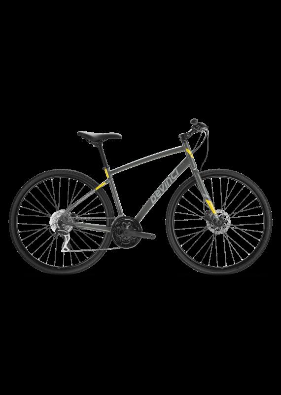 Devinci Devinci Milano Disc Acera 2022 Grey/Yellow