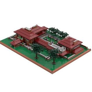 Martin House Atom Brick Building Set