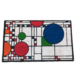 Coonley Colored Floor Mat