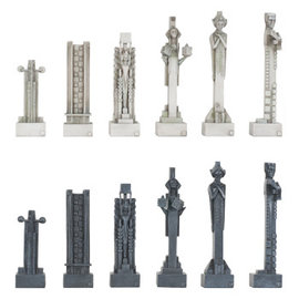 Midway Chess Pieces