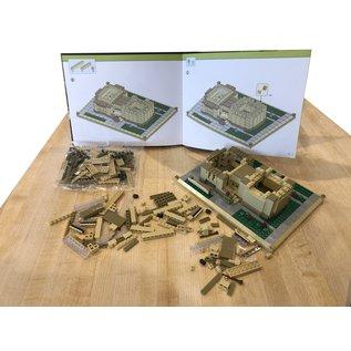 Unity Temple Atom Brick Building Set
