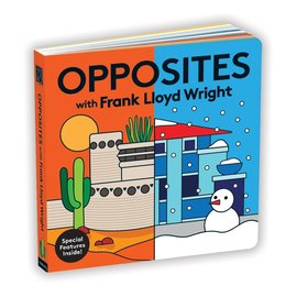 Opposites with Frank Lloyd Wright Board Book