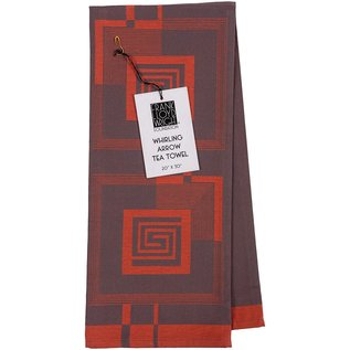 Whirling Arrow Jacquard Tea Towel