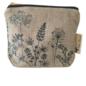 Garden Makeup Bag - Natural