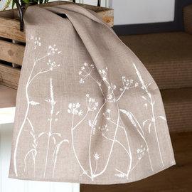 Hedgerow Tea Towel - Natural