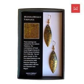 Wisteria Mosaic Fireplace Earrings