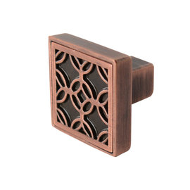 Luxfer Knob Antique Copper