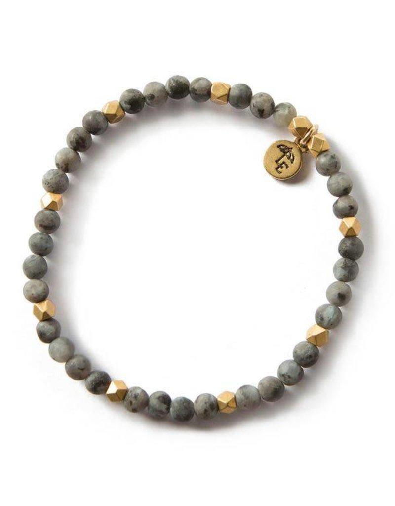 Lenny & Eva 4mm Gemstone Bracelet Labradorite