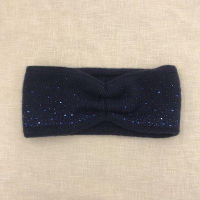 C.C. Navy Sparkle Headwrap