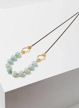 "Larissa Loden Amazonite Shapeshifter 30"" Necklace"