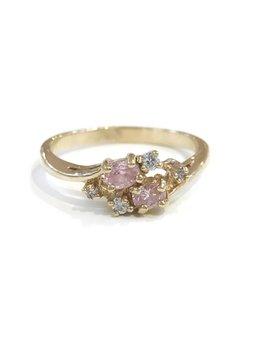 Gold October Birthstone Ring SZ 9