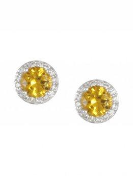 November Birthstone Earrings
