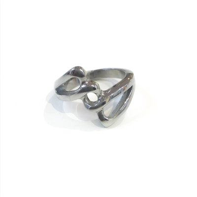 Stainless Steel Weaved Ring SZ 5