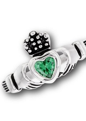 Stainless Steel Claddagh Ring 9