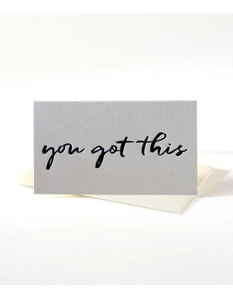 Elum You Got This Mini Note