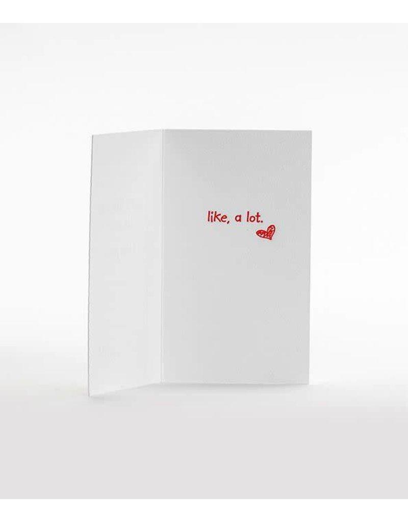 Elum I Love You Mini Note