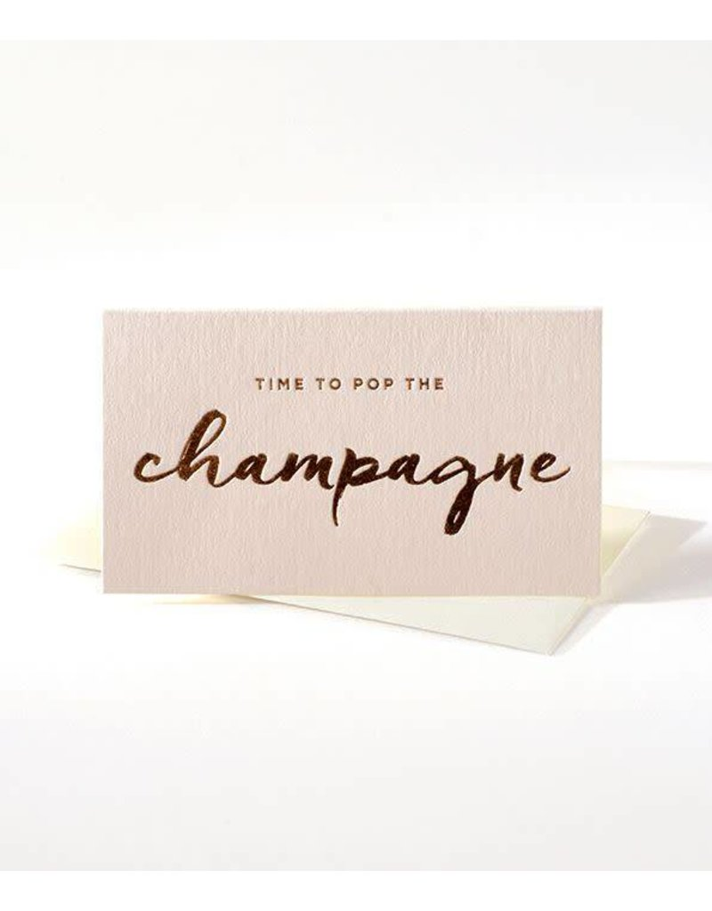 Elum Time to Pop the Champagne Mini Note