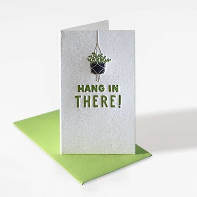 Elum Hang in There Plant Mini Note