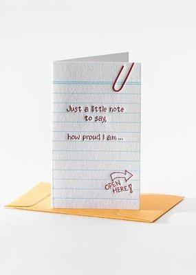 Elum How Proud I Am Mini Note